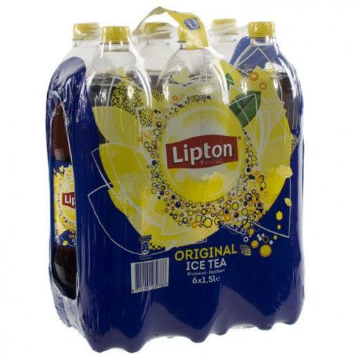 Afbeeldingen van Lipton Ice Tea Original Regular 6x1.5L PET