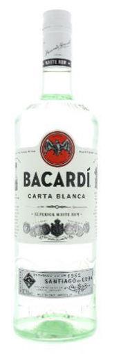 Afbeeldingen van Bacardi wit 1 liter