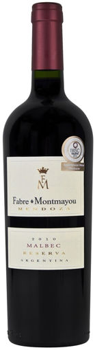 Picture of FABRE MONTMAYOU MALBEC RESERVADO